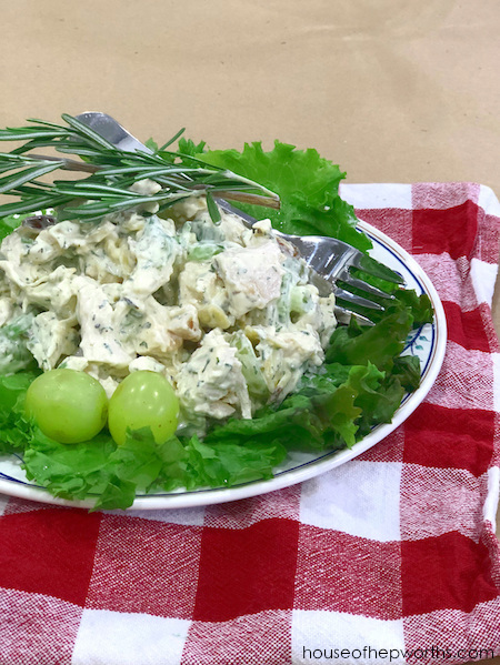 Recipe: The most amazing CHICKEN SALAD! - House of Hepworths